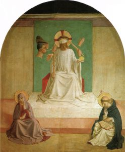 Mocking of Christ by Fra Angelico. (Wikicommons, public domain)