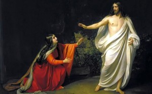 """Appearance of Christ to Mary Magdalene"" by Alexander Ivanov"