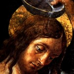 """Baptism of Christ"" (detail) by Perugino"