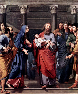 """The Presentation of the Lord"" by Champaigne"