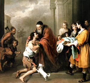 Return of the Prodigal Son - by Murillo