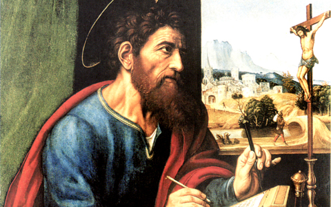 """""""St. Paul Writing"""" by Sacchi"""