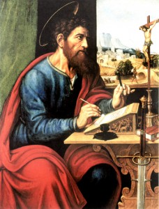 """St. Paul Writing"" by Sacchi"