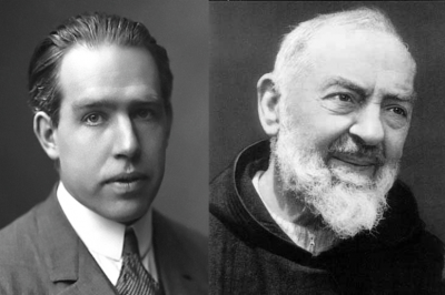 St. Pio and Bohr