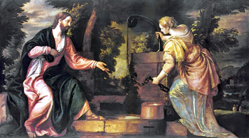 """Christ and the Woman of Samaria"" by Veronese"