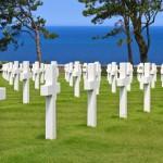 American War Cemetery near Omaha Beach, Normandy (Colleville-sur-Mer )