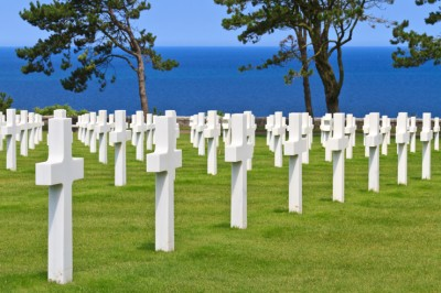 American War Cemetery near Omaha Beach, Normandy (Colleville-sur-Mer )