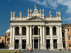 Archbasilica of St. John Lateran Arcibasilica Papale di San Giovanni in Laterano