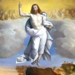 """Ascension of Christ"" (detail) by Garofalo"