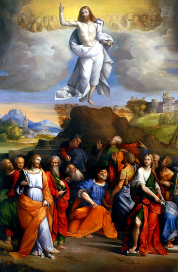 """Ascension of Christ"" by Garofalo"