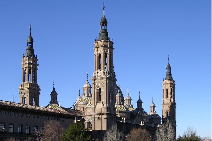 Catedral-Basílica de Nuestra Señora del Pilar in Zaragoza, Aragon, Spain