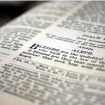 Encountering the Word — 1 Peter 5:8