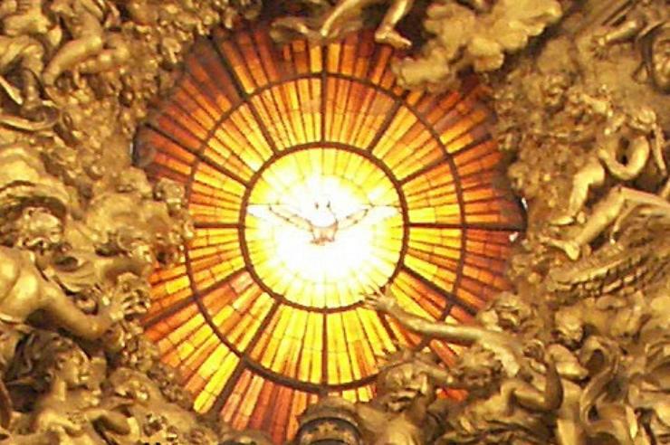 chair-peter-holy-spirit