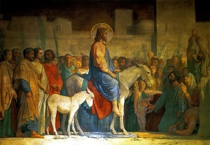 """Christ's Entry into Jerusalem"" by Hippolyte Flandrin"