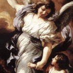 """Guardian Angel"" (detail) by Cortona"