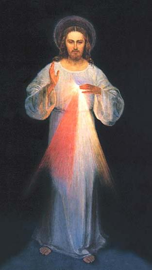 Vilnius Image of Divine Mercy by Kazimierowski