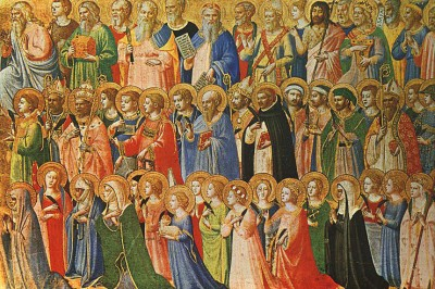 """All Saints"" by Fra Angelico"