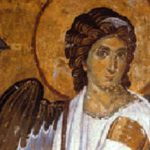 Archangel Gabriel Outside Tomb of Jesus Resurrection