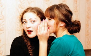 Real Friends Don't Let Friends Gossip