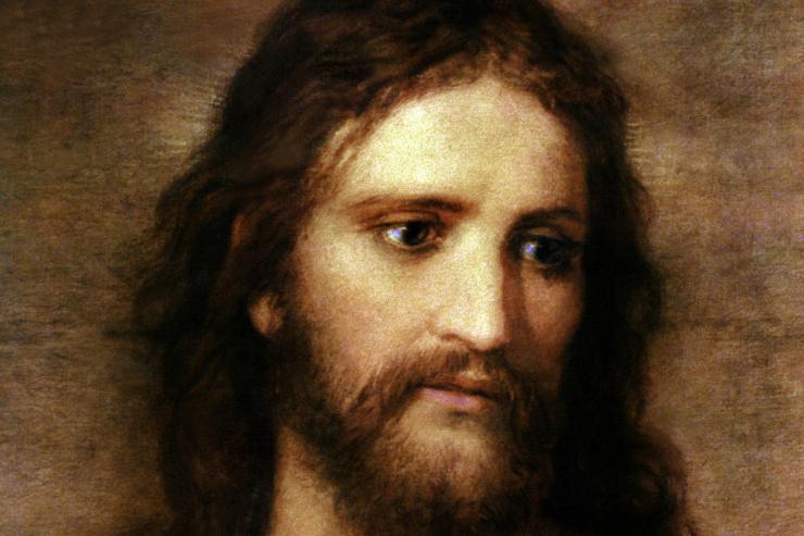 """Christ at 33"" (detail) by Hofmann"