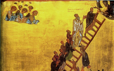 Ladder of Divine Ascent St. Catherine's Monastery Sinai Peninsula, Egypt