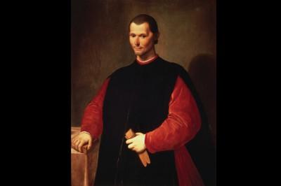 Portrait of Niccolò Machiavelli by Santi di Tito