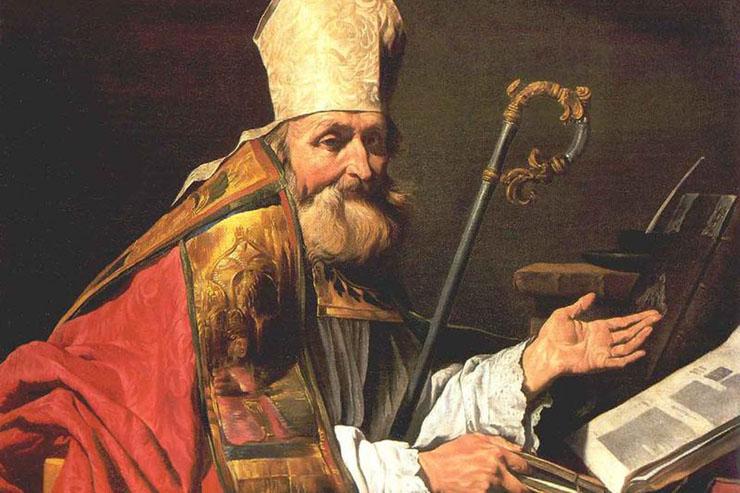 """St. Ambrose"" by Matthias Stom"