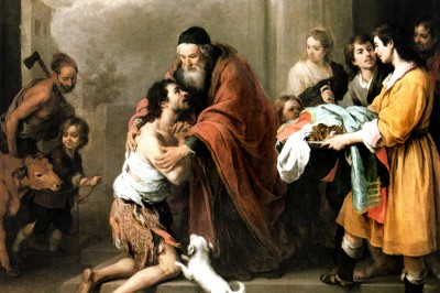"""Return of the Prodigal Son"" (detail) by Murillo"