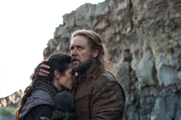 "Russell Crowe and Jennifer Connelly star as Noah and his wife ""Naamah"""