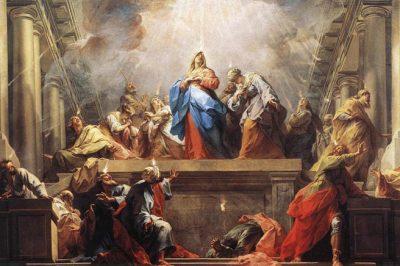 """La Pentecôte"" (The Pentecost) by Jean II Restout"