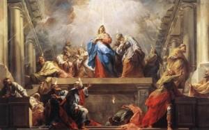 """""""Pentecost"""" by Jean Restout"""