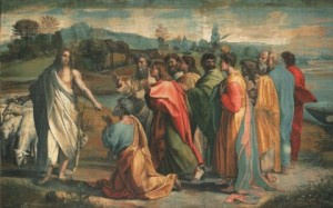 """Christ's Charge to Peter"" by Raphael"
