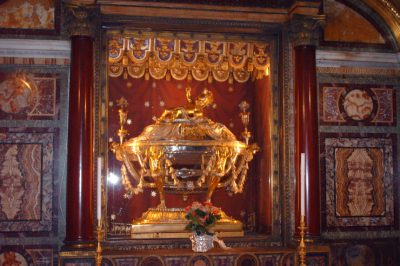 Reliquary of the Holy Crib Basilica di Santa Maria Maggiore