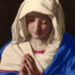 """The Virgin at Prayer"" (detail) by Sassoferrato"