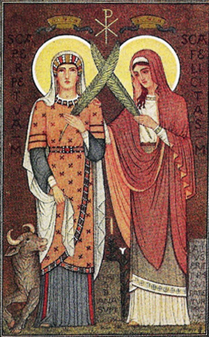 Ss. Perpetua and Felicity, Martyrs