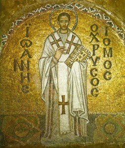 St. John Chrysostom Bishop and Doctor of the Church