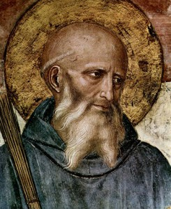 """Saint Benedict of Nursia"" by Fra Angelico"