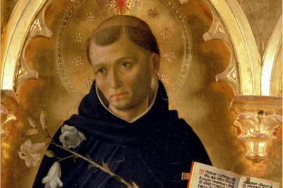 """St. Dominic"" (detail of the Perugia Altarpiece) by Fra Angelico"