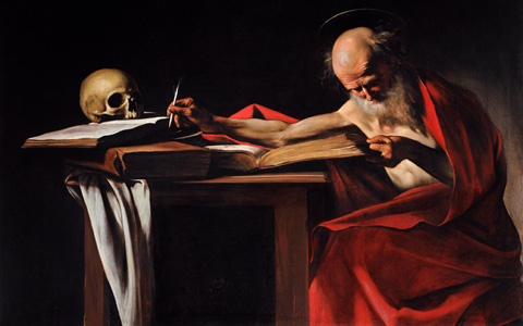 """St. Jerome Writing"" by Caravaggio"