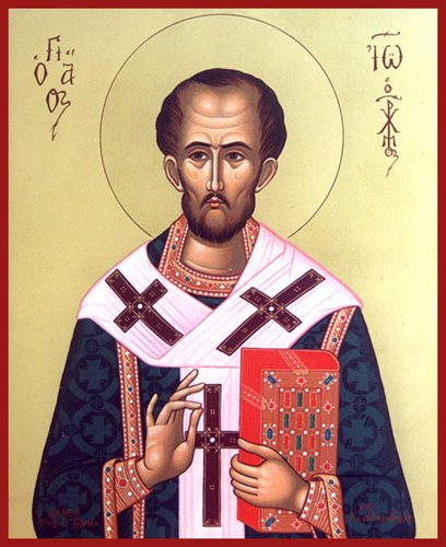 St. John Chrysostom, Bishop and Doctor of the Church