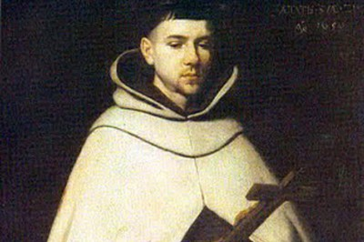 """St. John of the Cross"" (detail) by Francisco de Zurbarán"