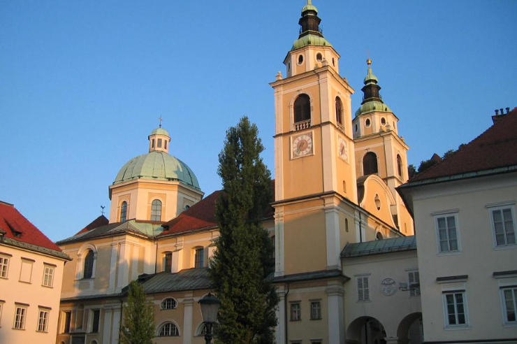 St. Nicholas Cathedral - Ljubljana, Slovenia