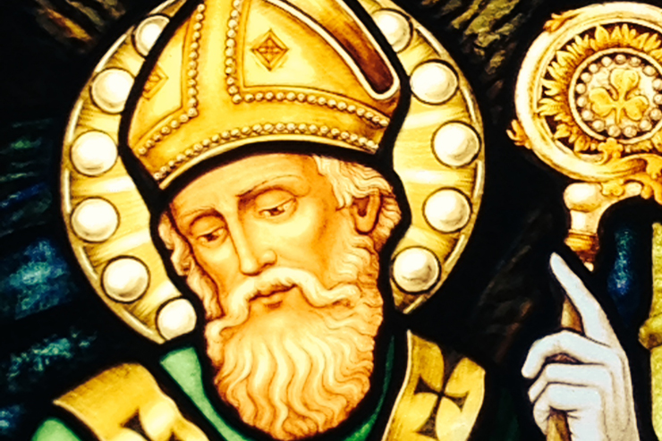 St. Patrick, Apostle of Ireland (detail)