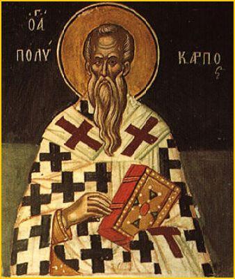 St. Polycarp of Smyrna, Bishop and Martyr
