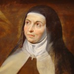 """Saint Teresa of Ávila"" (detail) by Peter Paul Rubens"