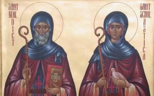 St. Benedict of Nursia and St. Scholastica of Nursia