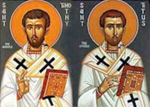 St. Timothy and St. Titus