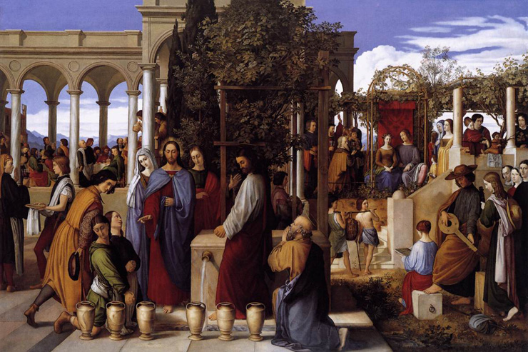 """The Wedding Feast at Cana"" by Julius Schnorr von Carolsfeld"