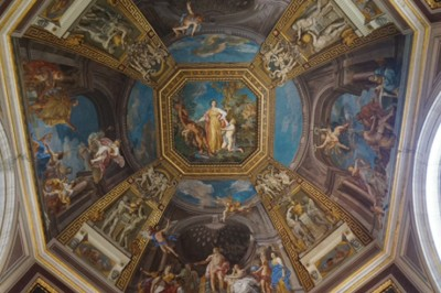 Ceiling in the Vatican Museum Photography by Mark Armstrong