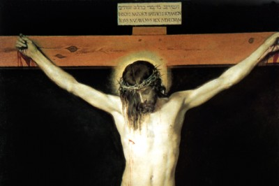 """Christ on the Cross"" (detail) by Velazquez"